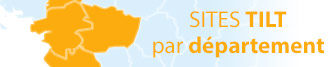 carte des sites TILT